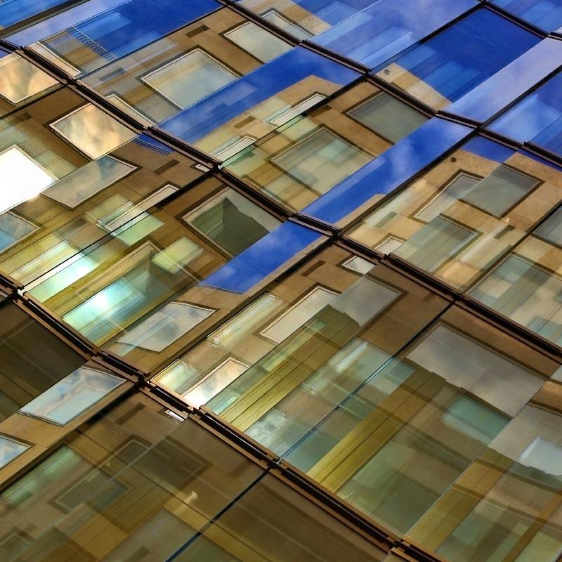 Abstract architectural repetitive structure