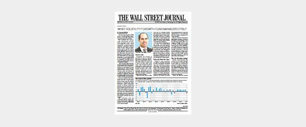Accent - WSJ Article, Virtus KAR Small-Cap Growth Fund (April 2018)