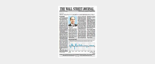 Accent - WSJ Article, Virtus KAR Small-Cap Growth Fund (April 2018)