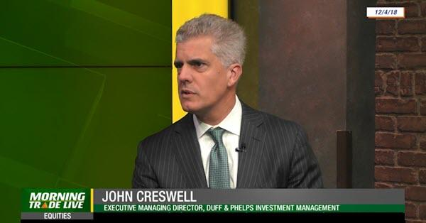 John Creswell - TD Ameritrade Morning Trade Live - Dec 2018