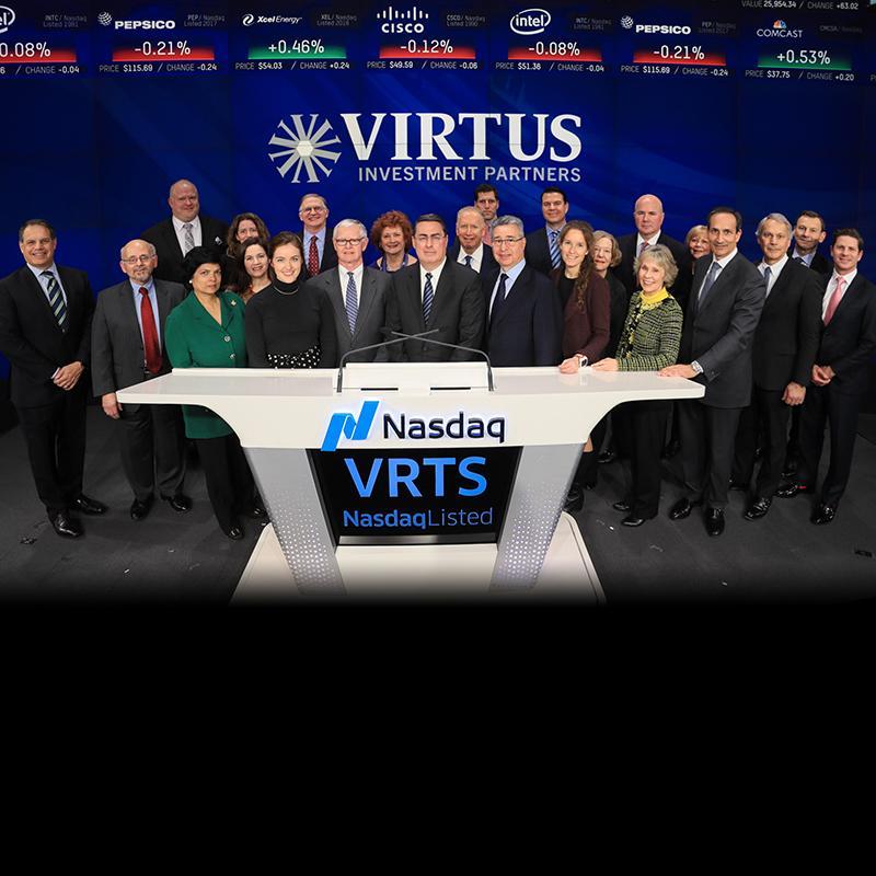 Virtus 10 Year Anniversary at Nasdaq