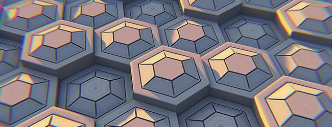 Accent Image Hexagons