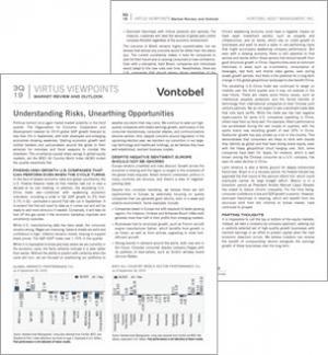 Image - Virtus Viewpoints - Vontobel - Pages