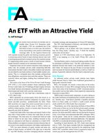 z - Cover Image: FA Magazine: An ETF with an Attractive Yield