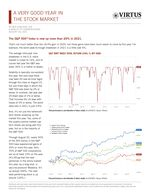 z - Cover Image: A Very Good Year in the Stock Market